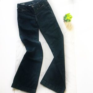 Citizens of Humanity 25 Chateau Trouser Bell Dark